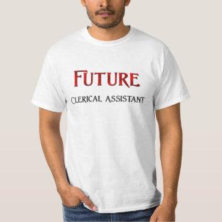 Ayudante administrativo futuro camisetas