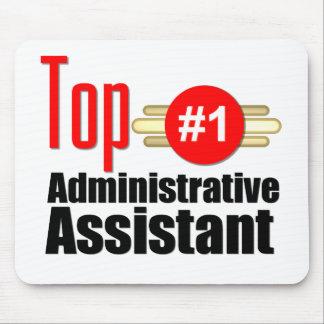 Ayudante administrativo superior alfombrilla de ratón