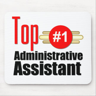 Ayudante administrativo superior tapete de ratón