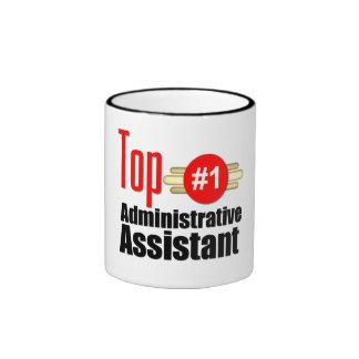 Ayudante administrativo superior taza