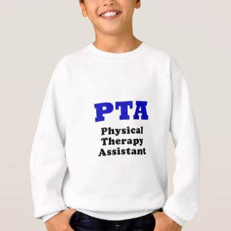 Ayudante de la terapia física de la Pta Sudadera