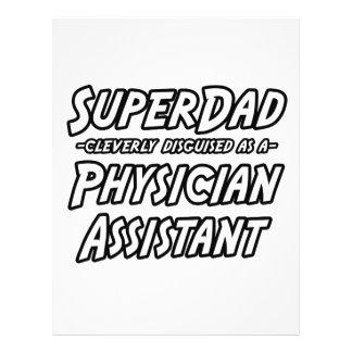 Ayudante del médico de SuperDad… Tarjeta Publicitaria