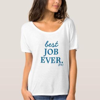 Ayudante del médico, la mejor camisa del trabajo