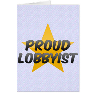 Ayudante ejecutivo orgulloso tarjeta de felicitación