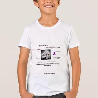 Ayude a mi mamá a batir su tumor cerebral camiseta