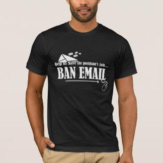 Ayúdenos a ahorrar la camisa del correo