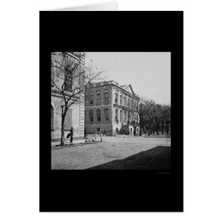 Ayuntamiento de Charleston, SC 1865 Felicitaciones