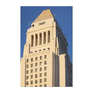 Ayuntamiento Los Ángeles Impresiones En Lienzo Estiradas