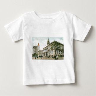 """""""Ayuntamiento"""" Nueva York Camiseta Para Bebé"""