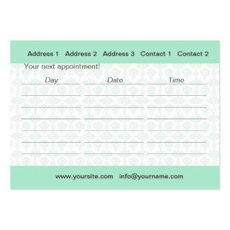 Ayurveda - tarjeta del negocio/del horario tarjetas de visita grandes