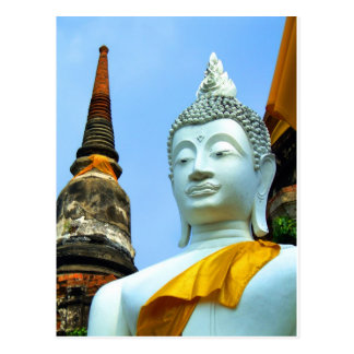 Ayutthaya. Wat Yai Chai Mongkol. Postal