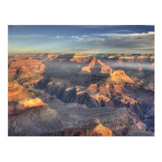AZ, Arizona, parque nacional del Gran Cañón, 5 del Postal