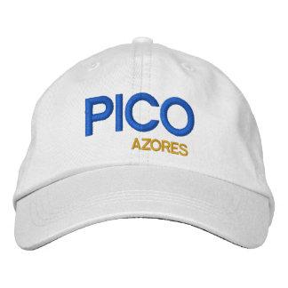 Azores - sombrero colorido de Pico Açores del Gorras Bordadas