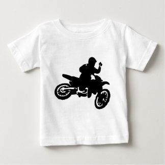 Azote de la bici del motocrós camiseta de bebé