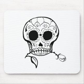Azúcar Skull Día de los Muertos Tapetes De Ratón