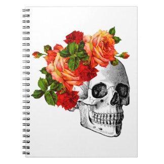 Azúcar Skull Dia De Los Muertos Day de los muertos Libreta