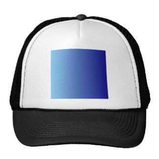 Azul a la pendiente de la vertical de los azules gorros