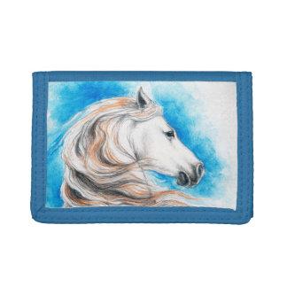 Azul andaluz del caballo