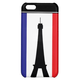 Azul blanco rojo de la torre de 4 Eifel