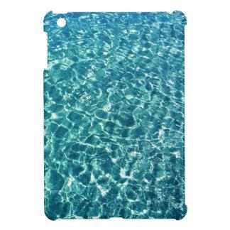Azul claro del agua