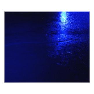 """Azul congelado 24"""" x 20"""", papel de la foto de"""