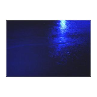 """Azul congelado 60 x 40, 1,5"""", sola impresión de la"""