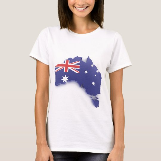 Azul de Australia Camiseta