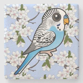 Azul de Birdorable Budgie Posavasos De Piedra