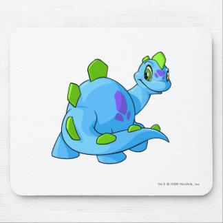 Azul de Chomby Alfombrilla De Ratón