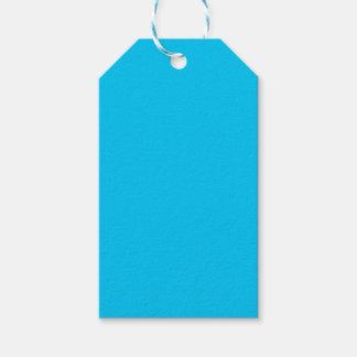 Azul de cielo etiquetas para regalos