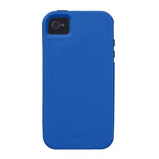 Azul de cobalto Case-Mate iPhone 4 carcasa