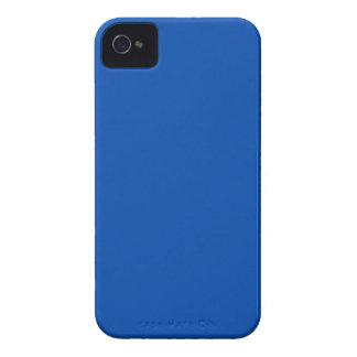 Azul de cobalto sólido iPhone 4 Case-Mate funda