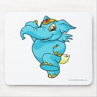 Azul de Elephante Alfombrillas De Ratones