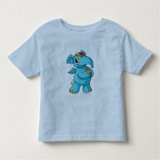 Azul de Elephante Camiseta De Niño