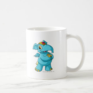 Azul de Elephante Taza De Café