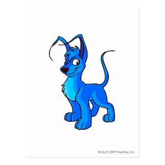 Azul de Gelert Postal