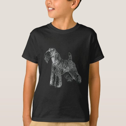 Azul de Kerry Terrier Camiseta