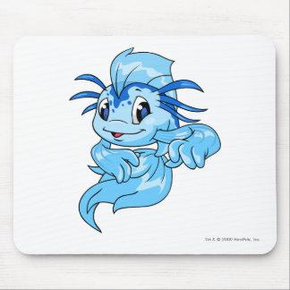 Azul de Koi Alfombrilla De Ratón