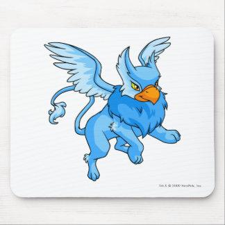 Azul de la aguilera alfombrilla de ratón