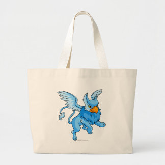 Azul de la aguilera bolsa tela grande