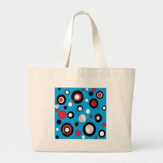 Azul de la polca bolsa