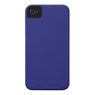 Azul de medianoche iPhone 4 protector