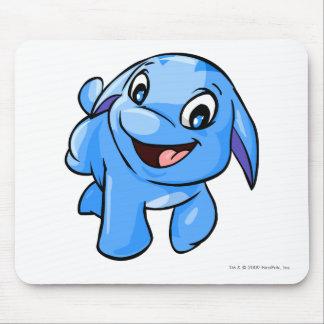 Azul de Poogle Tapetes De Raton