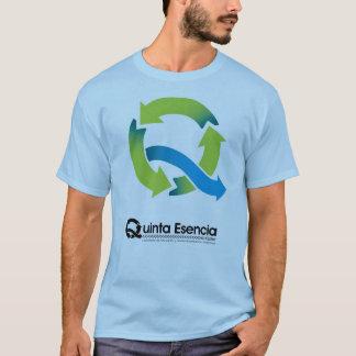 ¡Azul de Quinta Esencia y coloreado! Camiseta