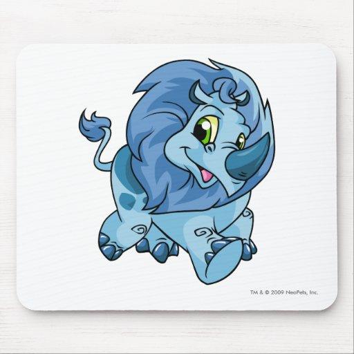 Azul de Tonu Tapete De Ratones