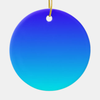Azul de ultramar eléctrico a la pendiente ciánica ornamentos para reyes magos