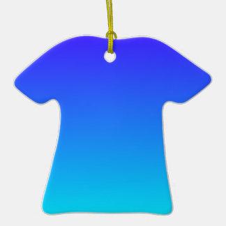 Azul de ultramar eléctrico a la pendiente ciánica ornamentos de reyes
