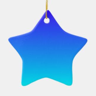 Azul de ultramar eléctrico a la pendiente ciánica adorno para reyes