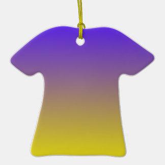 Azul de ultramar eléctrico a la pendiente horizont ornamento de reyes magos