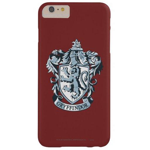 Azul del escudo de Gryffindor Funda De iPhone 6 Plus Barely There